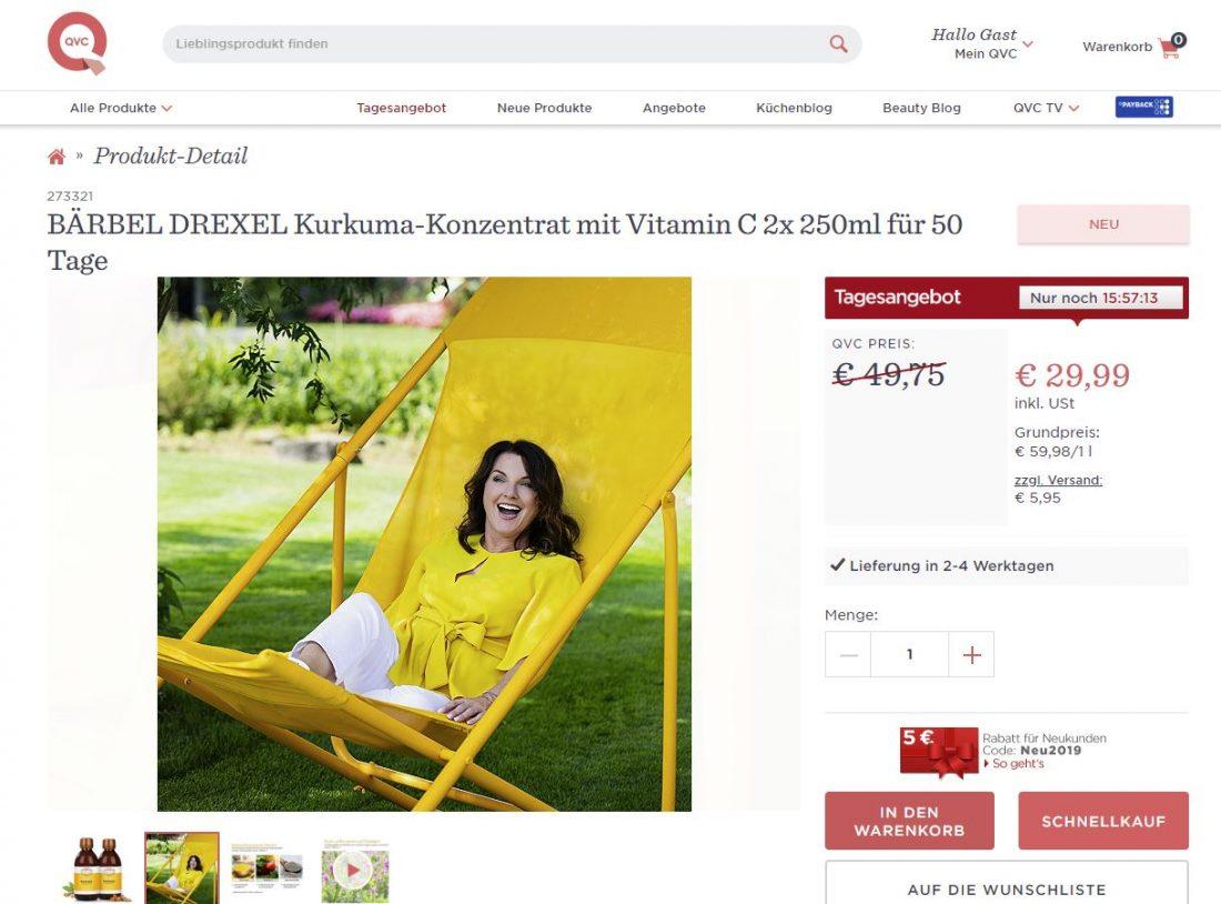 Monika Drexel für Bärbel Drexel/QVC