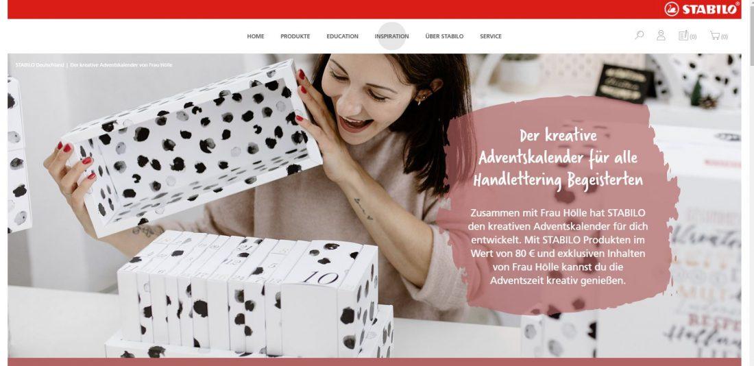 Frau Hölle für Stabilo kAdventskalender