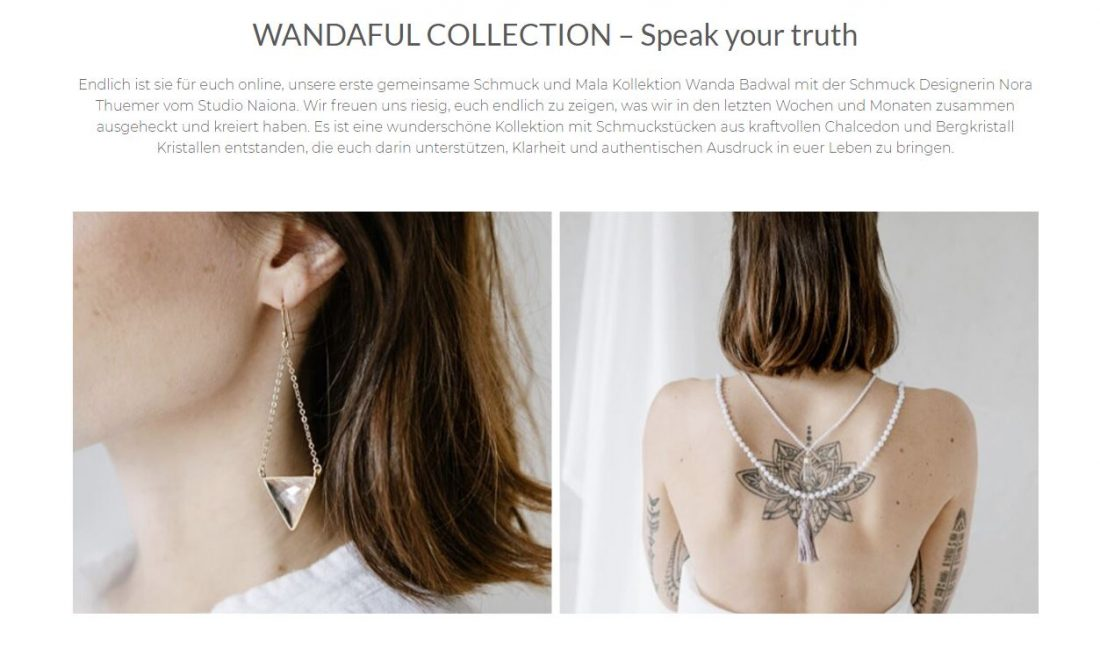 Wandaful Collection von Wanda Badwal mit NAIONA